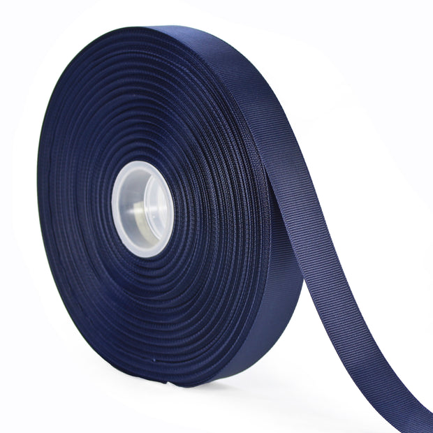 7/8 inch navy grosgrain ribbon