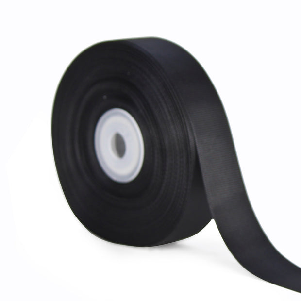 7/8 inch black grosgrain ribbon