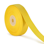 7/8 inch maize yellow grosgrain ribbon