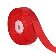 7/8 inch red grosgrain ribbon