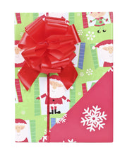Traditional Kids Christmas Wrapping Paper - 3 Roll Pack