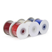 "LaRibbons 1 1/2"" Solid Patriotic Grosgrain Ribbon Bundle 6 Pack - 5 Yard Spools"