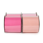 "LaRibbons 2 1/4"" Textured Grosgrain Ribbon Lt. Pinks Spool Bundle 4 - 5 Yard Spools"