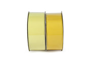 "1 1/2"" Solid Grosgrain Ribbon Baby Maize/Maize Spool Bundle 2 - 20 Yard Spools"