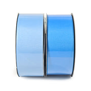 Two blue and light blue grosgrain ribbon bundle 20 yards