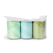 "LaRibbons 3"" Solid Grosgrain Ribbon Mint Spool Bundle 3 - 5 Yard Spools"