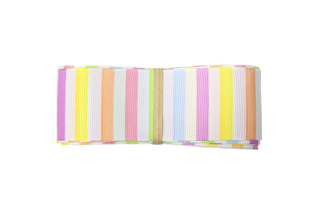 1 1/2 inch Rainbow Stripes Grosgrain Ribbon