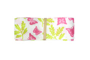 1 1/2 inch Green Butterfly Grosgrain Ribbon