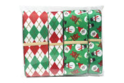 Christmas Novelty Argyle Grosgrain Ribbon Collection