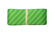 1 1/2 inch green stripe grosgrain ribbon