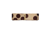 "LaRibbons 7/8""- 1 1/2"" - ""Tan and Brown"" Stripes/Zebra/Dots Bundle"