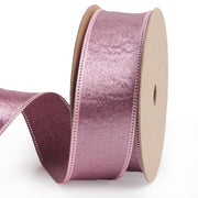 25 millimeter rose pink silk ribbon
