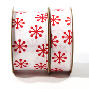 Jacks Grosgrain Ribbon Red/White