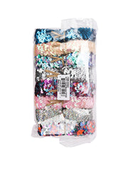 "1"" Elastic Sequin Stretch Trim Bundle - 2Yard/Color-Total 16 Yards"