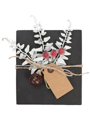 24Pcs/Set Gift Wrapping Collection - Artificial Branch, Red Berry, Gift Tags, Bells