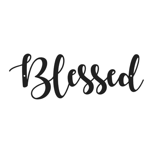 Calligraphy Blessed Sign