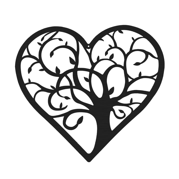 Heart Tree of Life Sign