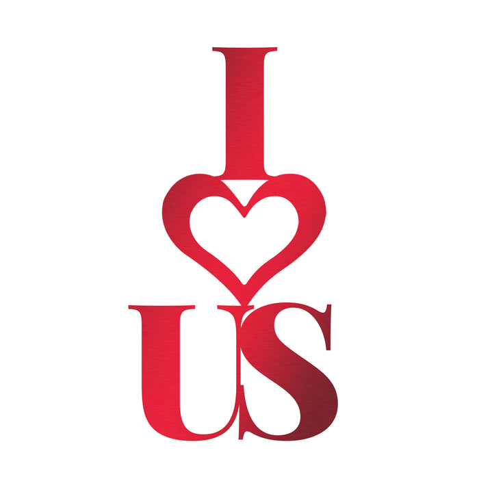 I Heart Us Sign