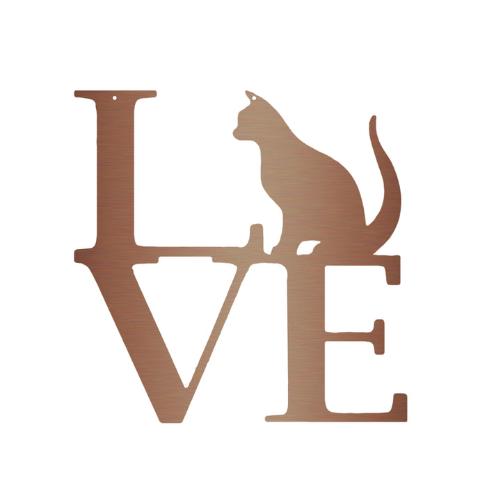 Love With Cat Sign
