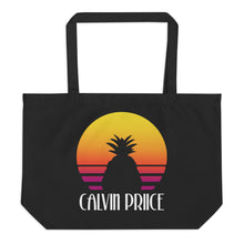 Load image into Gallery viewer, Large Calvin Priice organic tote bag