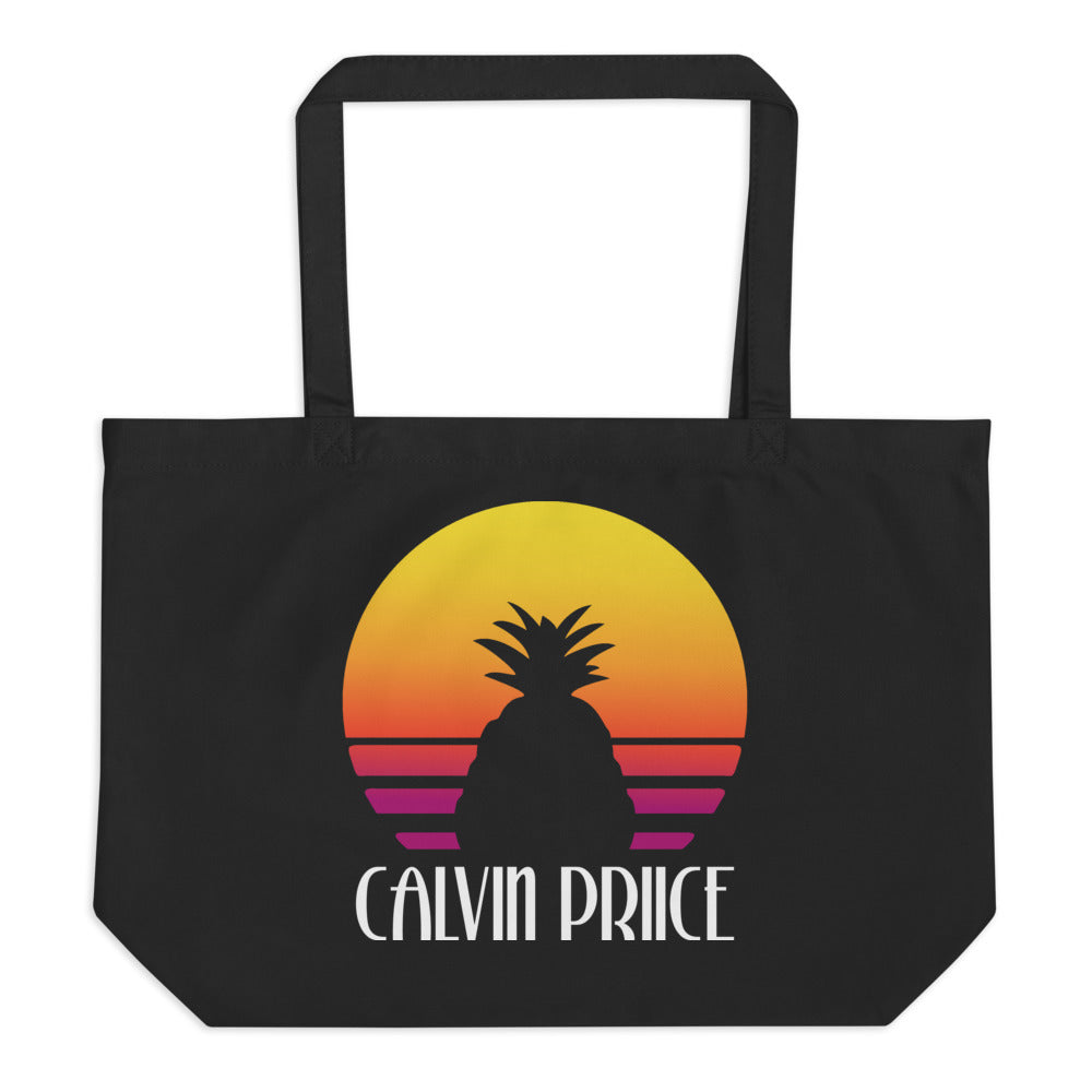 Large Calvin Priice organic tote bag