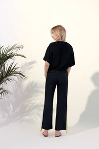 50% OFF  SPORTY TROUSERS BLACK