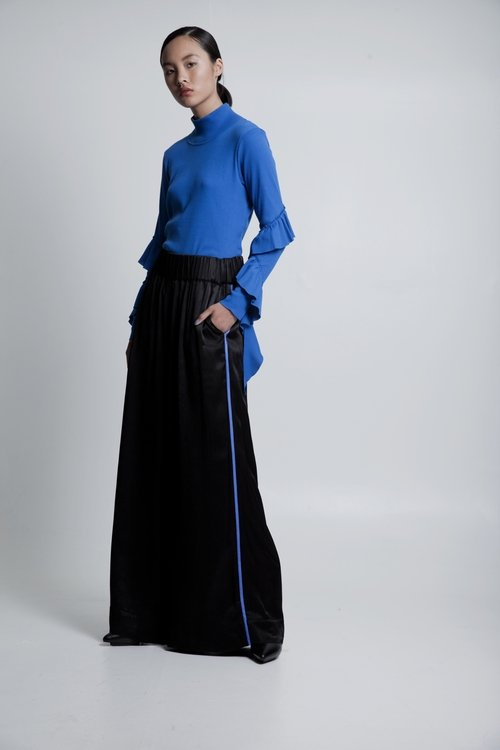 50% OFF Culottes with elastic waist