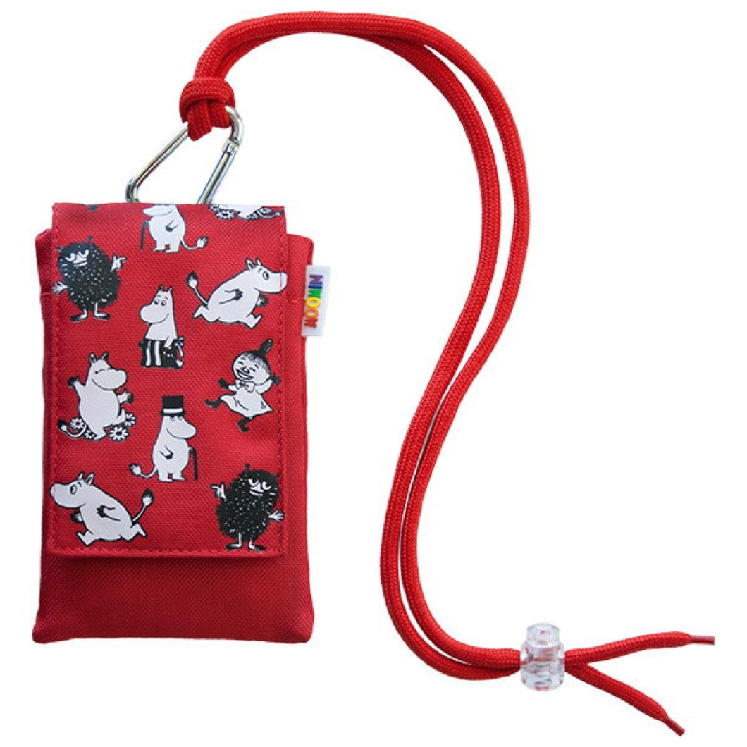 Moomin Mobile Pouch Red & Blue