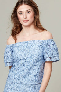 50% OFF WHAM TOP CORN BLUE