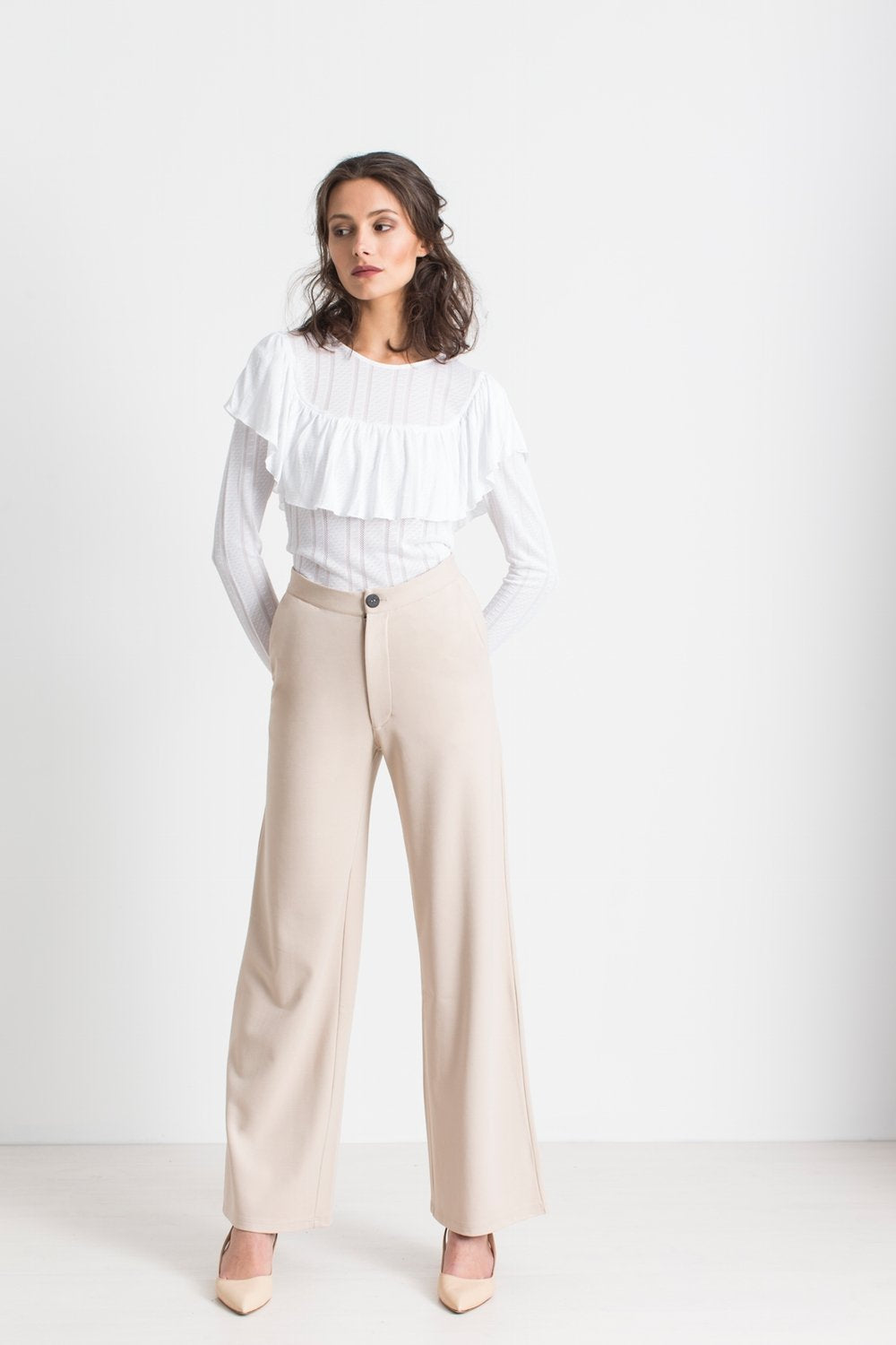 MORE THAN  50% OFF Pagoda Sand pants