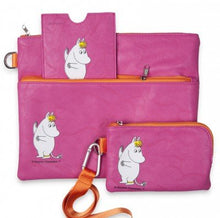 Load image into Gallery viewer, 50% OFF  Snorkmaiden Pink  telephone pouch