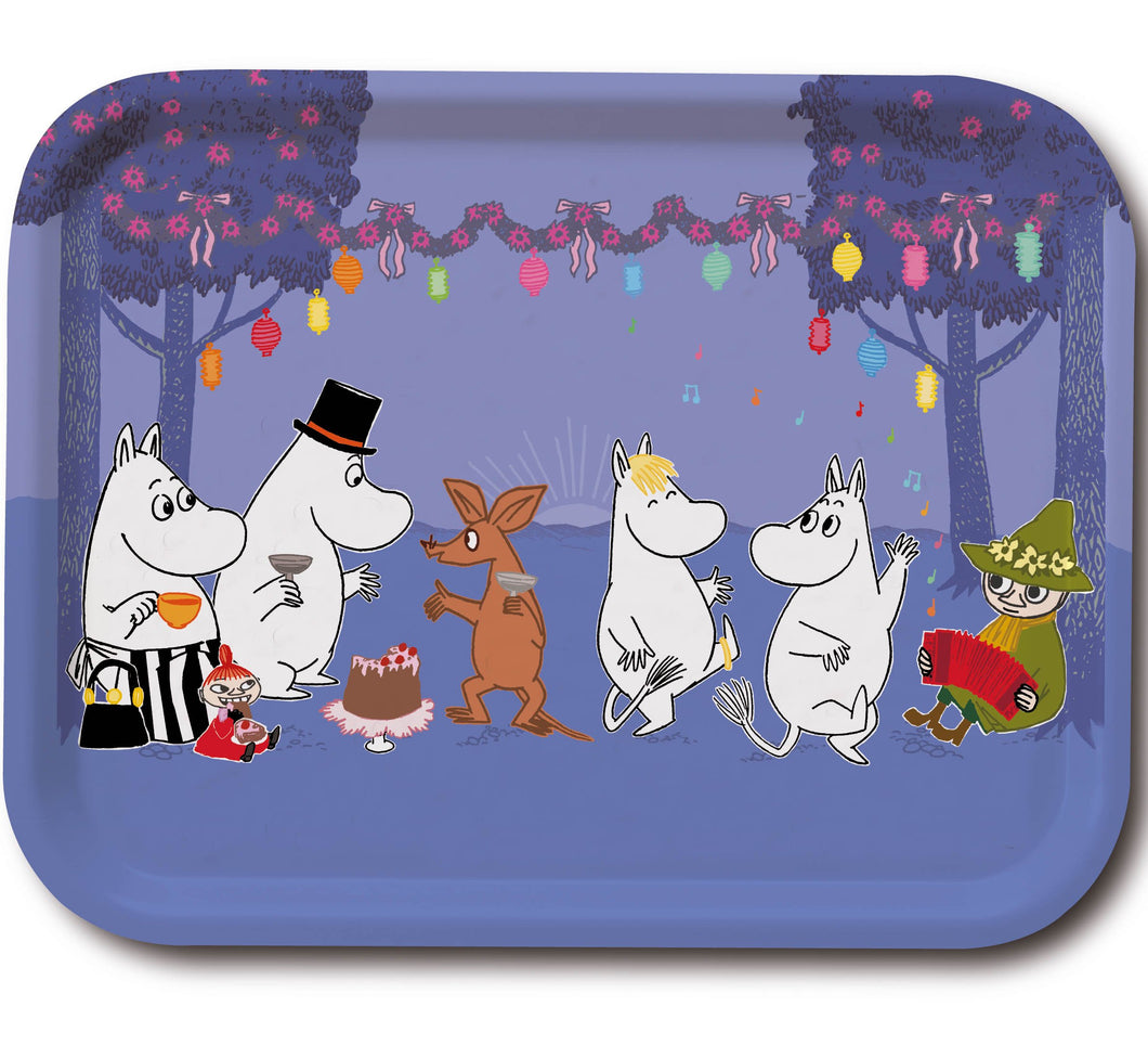 Tray 43×33  Moomin Dancing