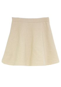 50% OFF  Gold  College Skirt