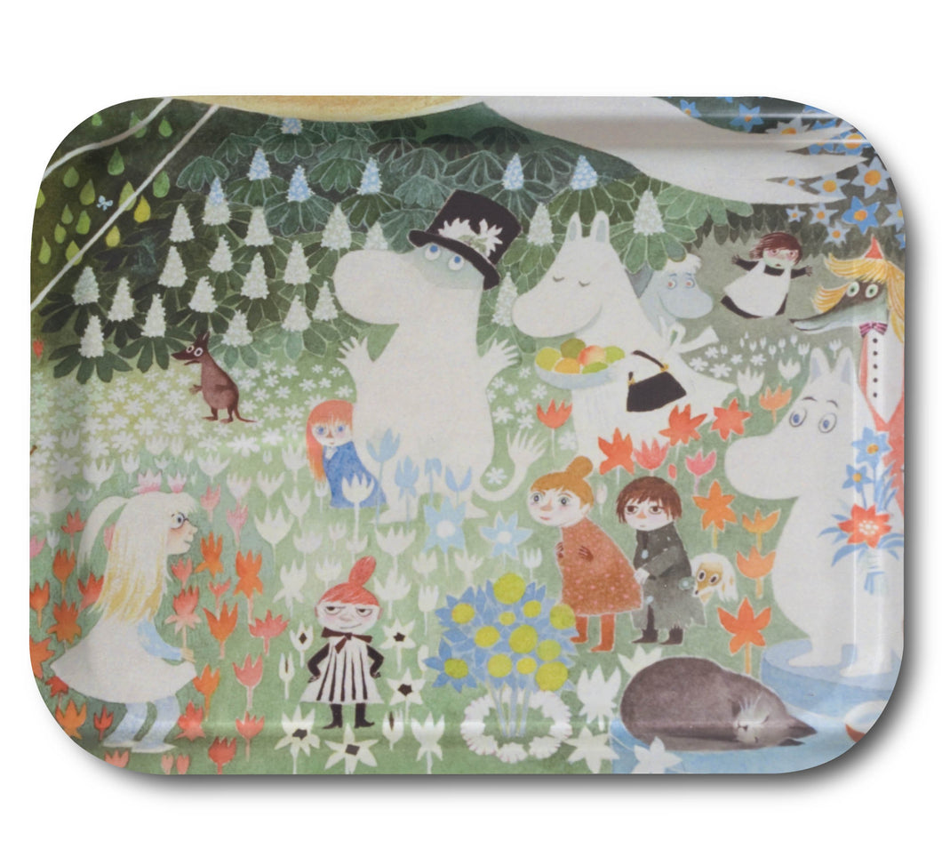 Tray 36x28 Dangerous Journey Moomin