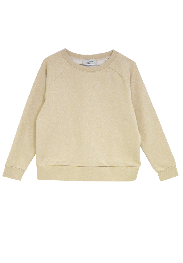 Gold College Sweater