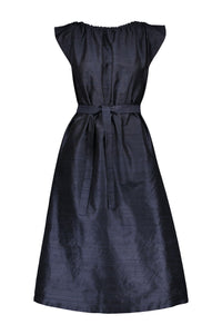TROCADERO MIDI  SILK DRESS