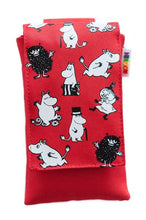 Load image into Gallery viewer, Moomin Mobile Pouch Red & Blue