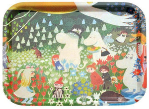 Tray 43×33 Dangerous Journey Moomin