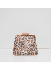 Animal Rights Glitter Purse L
