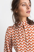 Load image into Gallery viewer, Nolana print blouse
