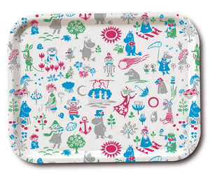 Tray 43×33  Moomin Pattern Design