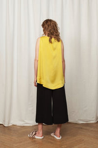 50% OFF Cecily top mustard yellow