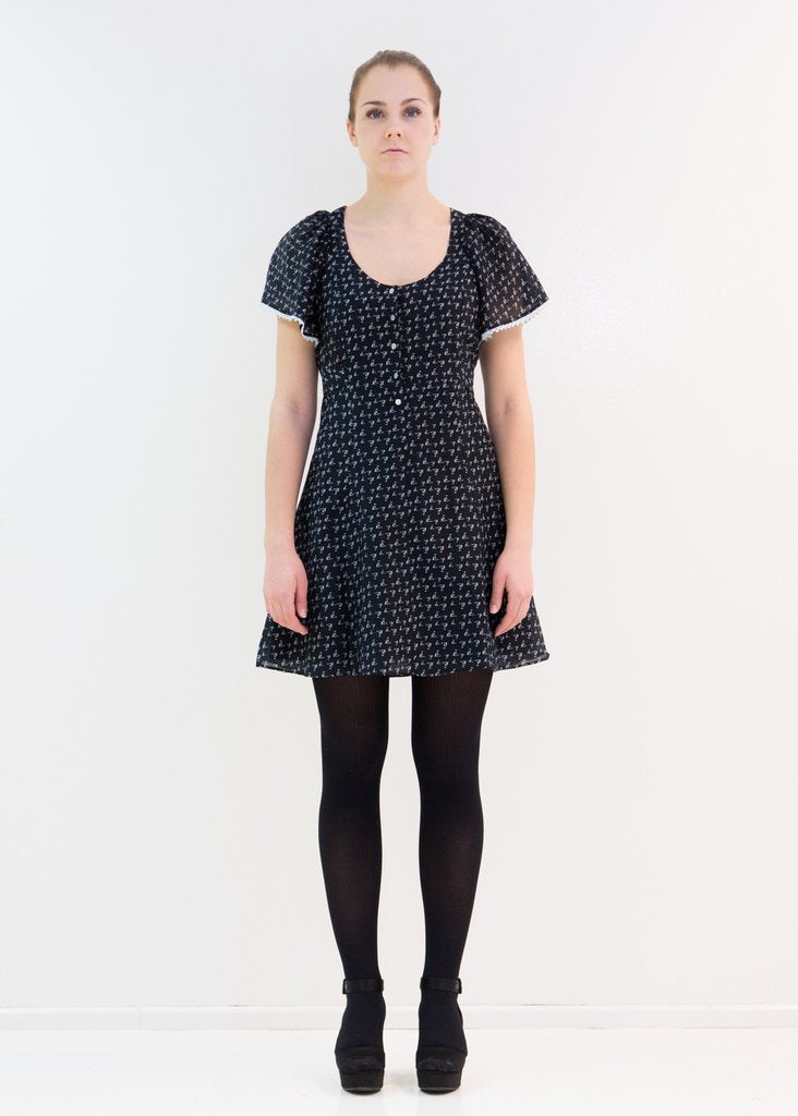 50% OFF Moomin Kaisa Black dress