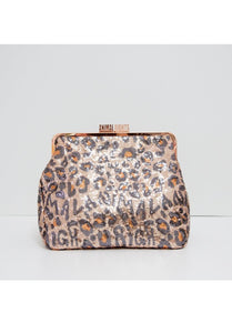 Animal Rights Glitter Purse XL