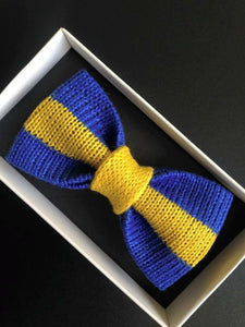Swedish Flag Bow Tie