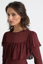 Load image into Gallery viewer, Silene brown blouse
