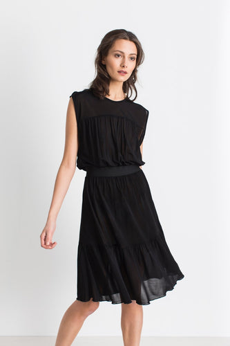 Nemesia black dress