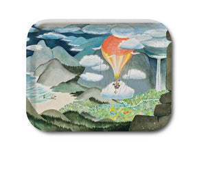Tray 36x28 The Moomin Valley