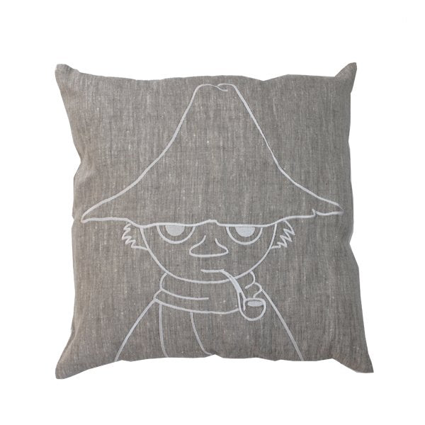 Snufkin Linen Cushion Cover