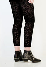 Load image into Gallery viewer, Animal Rights Leggings - Burnt Velour